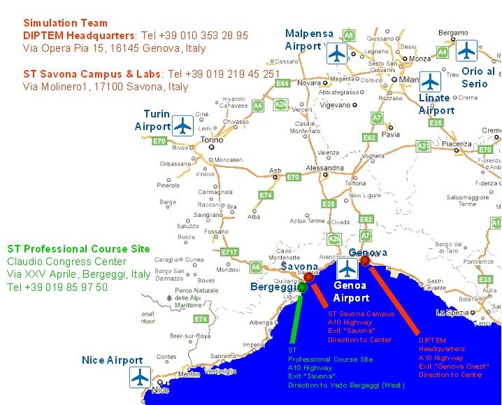 Simulation Team Genoa Venue